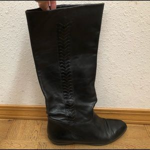 VINTAGE Enzo Angiolini Soft Leather Boots